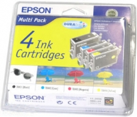 T0431 Комплект Epson St.Col. С84/86/СХ 6400 (Black, Cyan, Magenta,Yellow)