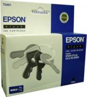 Картридж оригинальный (блистер) черный (black) Epson T0461, ресурс 400 стр.