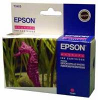 Картридж оригинальный (блистер) пурпурный (magenta) Epson T0483, ресурс 430 стр.