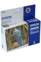 Картридж оригинальный (блистер) светло-голубой (light cyan) Epson T0485, ресурс 430 стр.