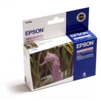 Картридж оригинальный (в технологической упаковке) светло-пурпурный (light magenta) Epson T0486, ресурс 430 стр.