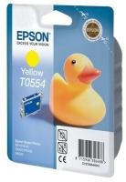 Картридж оригинальный (блистер) желтый (yellow) Epson T0554 / C13T055440, ресурс 290 стр.