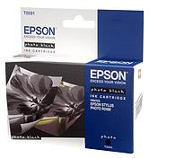 Картридж оригинальный (блистер) черный (black) Epson T0591, ресурс 440 стр.