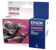 Картридж оригинальный (блистер) пурпурный (magenta) Epson T0593, ресурс 440 стр.