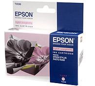 Картридж оригинальный (в технологической упаковке) светло-пурпурный (light magenta) Epson T0596, ресурс 440 стр.
