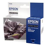 Картридж оригинальный (блистер) матовый черный (matte black) Epson T0598, ресурс 440 стр.