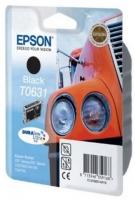 Картридж оригинальный (блистер) черный (black) Epson T0631, ресурс 250 стр.
