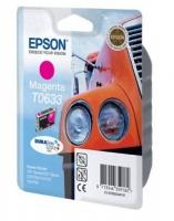 Картридж оригинальный (блистер) пурпурный (magenta) Epson T0633, ресурс 250 стр.