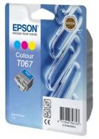 Картридж оригинальный (блистер) цветной Epson T067 / C13T06704010 Color, объем 25 мл.
