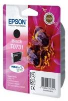 Картридж оригинальный (блистер) черный (black) Epson T0731 / C13T07311A10, ресурс 470 стр.