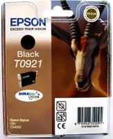 Картридж оригинальный (блистер) черный (black) Epson T0921 / C13T09214A10, объем 7,4 мл.