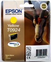 Картридж оригинальный (блистер) желтый (yellow) Epson T0924 / C13T09244A10, объем 5,5 мл.