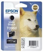 Картридж оригинальный (блистер) матовый черный (matte black) Epson T0968, объем 11,4 мл.