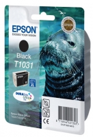 Картридж оригинальный (блистер) увеличенной емкости черный (black) Epson T1031/ C13T10314A10, объем 25,9 мл.