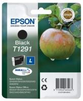 Картридж оригинальный (в технологической упаковке) черный (black) Epson T1291 / C13T12914010, объем 12,1 мл.