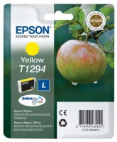 Картридж оригинальный (в технологической упаковке) желтый (yellow) Epson T1294 / C13T12944010, объем 7 мл.