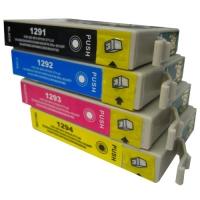 Комплект картриджей оригинальный (в технологической упаковке) Epson T1295 (Bl, C, M, Y)