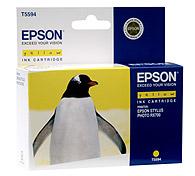 Картридж оригинальный (блистер) желтый (yellow) Epson T5594 (C13T55944010), ресурс 400 стр.