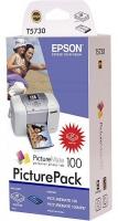 Набор для печати оригинальный Epson T5730 / C13T573040 (картридж+135 листов)