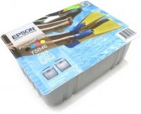 Набор для печати оригинальный Epson T5846 / C13T58464010 PicturePack (картридж+150 листов)