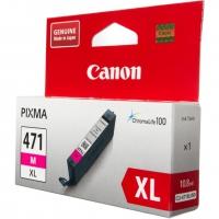 Картридж оригинальный пурпурный Canon CLI-471XL M, ресурс 640 стр.