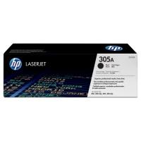 Картридж оригинальный черный (black) HP CE410A (305A / 305А), ресурс 2200 стр.
