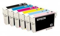 Комплект картриджей оригинальный (блистер) Epson T0871 - 879 для Epson Stylus Photo R1900 (Bl, C, M, Y, R, Mbk, Or)